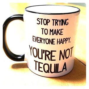 Tequila themed coffee mug